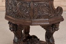 Wood carving ideas / by M. Riquez