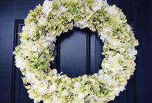 Door wreath / by Stephanie Navarro