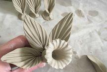 Bloemen keramiek