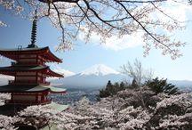 Mont Fuji le magnifique / Des photos et encore des photos du Mont Fuji au Japon. Point culminant de ce pays et beauté naturelle à couper le souffle.