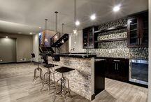 Basement Wet Bars & Kitchens