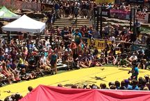 GoPro Mountain Games in Vail Village / This year the GoPro Mountain Games were a huge success! Audiences gathered to watch a number of events, including the Slackline World Cup and Kayak Freestyle.