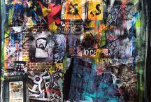 """Exhibition """"MARZENA LAVRILLEUX"""" / A leitura dos trabalhos da artista francesa Marzena Lavrilleux pode ser interpretada como uma forte crítica ao fascínio da sociedade pelos objectos de consumo. O aspecto mais enigmático é o choque da arte figurativa em oposição a linguagem abstracta. Cores brilhantes, delineadas por traços contínuos contribuem para o impacto visual. Símbolos ambíguos do mundo contemporâneo, desvinculados do contexto de uma história, convivem em harmonia com a arte abstracta."""
