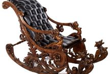кресло  качялка