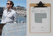 Clipboard to Closet / Follow the story of a Trumaker shirt.
