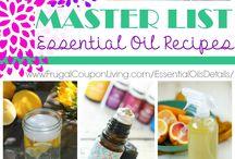Essential Oils / by faithfamilyfibro