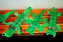 Reptiles Pre-primary theme
