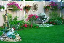 Backyard flowers beds ideas