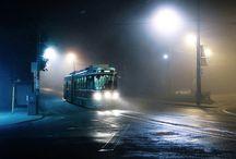 Environment Foggy Night