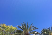 Blue is my colour / Blue sky from Lanzarote in April