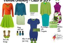 Greenery de kleur van 2017 / Een kleur die we dit jaar veel terug gaan zien is de kleur greenery. Het is een prachtige frisse kleur met een warme ondertoon.