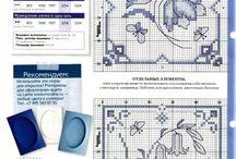 Cross stitch patterns - Delft/ Dutch