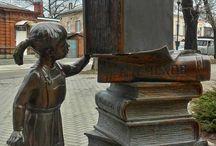 مجسمه های خواندن