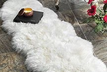 Natural Sheepskin Rug Carpets