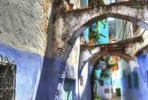 Chefchaouen in Blue, Morocco