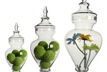 Ornamental Glass Jars