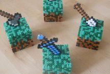 Perles hama Minecraft / Perles hama