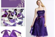 Inspiración, purple wedding