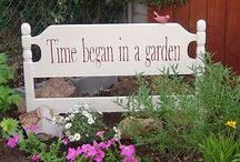 garden signs / by Carol Van Curen-Wright