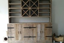 onze meubels van steigerhout