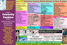 CELEBRITY FASHION / ExclisveCustom Made Gown in Your Budget