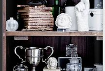 Lovely vignettes in the home