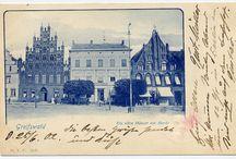 Greifswald Geschichte in Schwarz Weiß