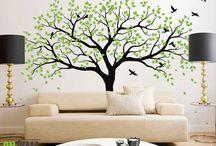 strom na stěnu