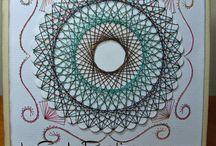 Paper Embroidery / spirelli / trabalhos em bordado e ou spirelli