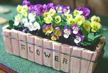 tutorials: flowers (daisies, pansies, & violets) / Tutorials for miniature daisies, violets, and pansies.