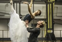 "Rehearsals for ""Onegin"" / Carlos Quezada has photographed the final rehearsals of ""Onegin"" / by Staatsballett Berlin"