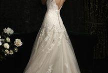 Vestindo a Sté de noiva