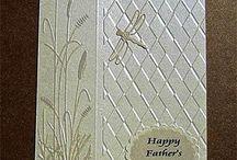 Reeds embossing folder
