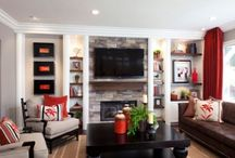 Living room ideas / by Marli Sysum