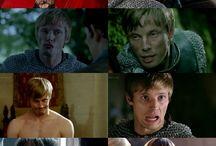 Merlin, Damien / Merlin, bbc merlin, Damien, Damien Thorn