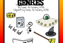 Genre Unit / by Constance Watts