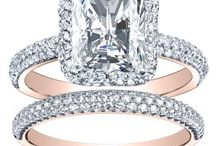 Design Your Own Engagement Ring / You can select any of the rings below and design your own engagement ring. You will have full control to design the Metal Color of the ring, The Center Stone of the ring, add a matching band and ect ....   view more options at www.diamondmansion.com / by DIAMOND MANSION CO. Unique Engagement Rings