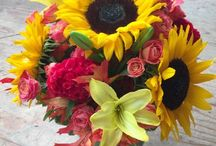 Caan's Floral Arrangements / Floral Arrangements created by Caan's Floral. From birthdays, to anniversary, special occasions and everything in between! Call or go to our website today to order your custom arrangements.  www.caanfloral.com   -   (920) 452-4111