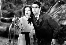 Movies & TV / I'll be with you in a minute Mr. Peabody ---  from Bringing Up Baby with Cary Grant and Katherine Hepburn / by Marcia Munger