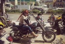 Real Woman Riders / www.facebook.com/womanriders Motorcycle, girl, woman, biker