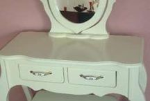 Bedside table, Vanity desk, Secretary Desk / Bedroom furniture