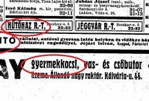 Régi hirdetések / Régi hirdetések - vintage ads