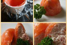salmón mousse