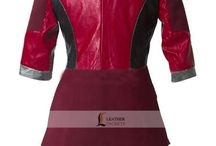 Elizabeth Olsen Captain America Civil War Costume / LeathersJackets.com Proudly making a costume of Stunning Elizabeth Olsen from the Movie Captain America Civil War, This Costume is available in TWO different styles for women. you will love to buy them and it will boost your Personality.