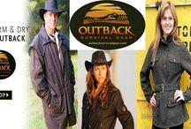 Outback Survival Gear / Look great even in the rain!