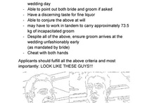 Wedding: Adventuring Party / All non-clothing details regarding the adventuring party of groomsminions and bridespeeps! Tally ho! / by Dread Pirate Khan