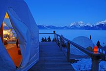 Whitepod - Portes du Soleil / Well what can we say...it's a fancy igloo and you're the fancy Eskimo! Hop in and relax.