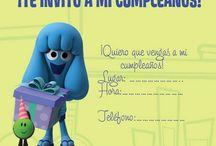 Jelly Jamm's birthday invitation card / #birthday #BirthdayParty #celebration #party #Kid'sParty #JellyJamm #JellyJamm'sParty  / by Jelly Jamm