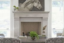 fireplaces / by Jeanell Wethington