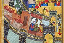 ANTIQUE PERSIAN PAINTINGS
